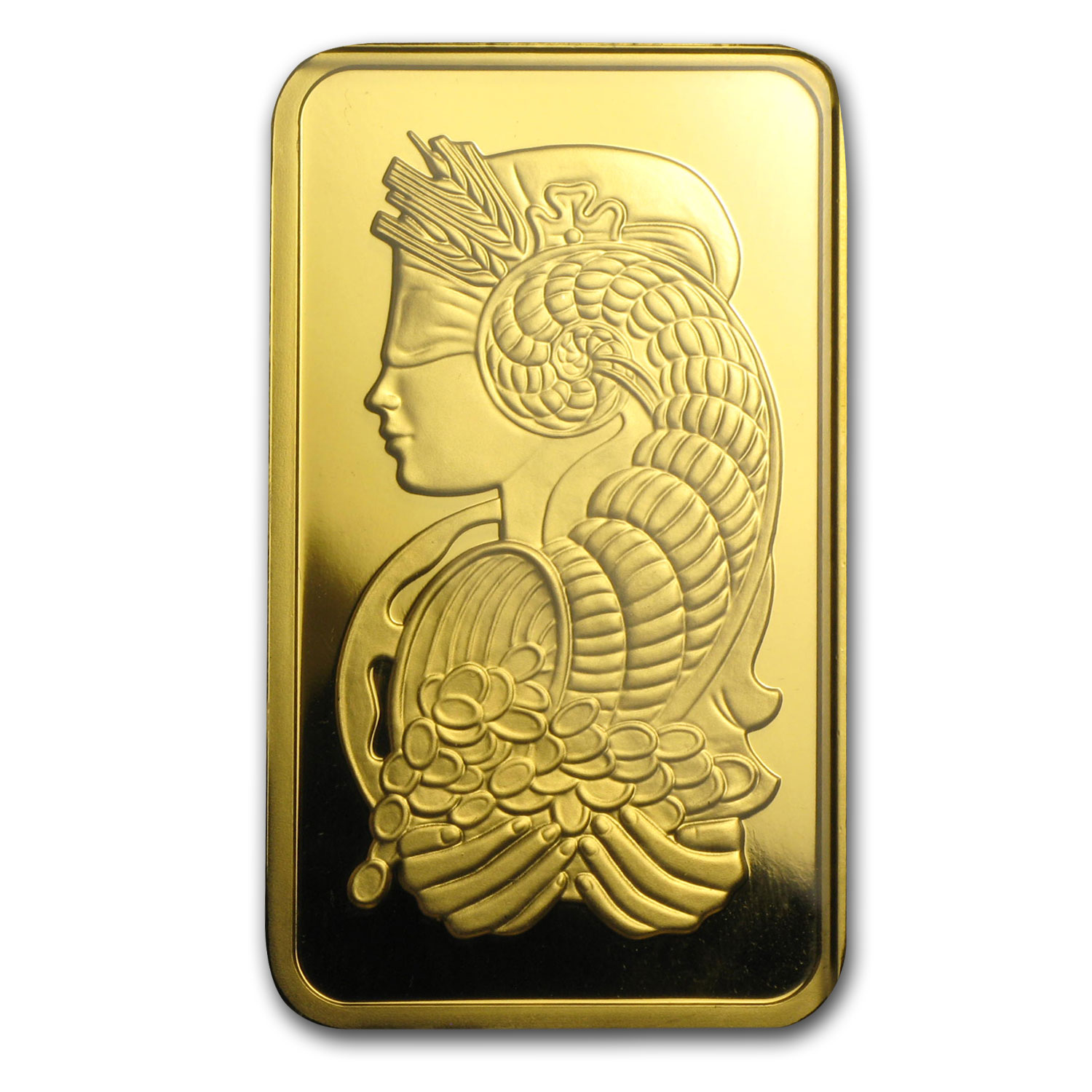 100 gram Gold Bars - Pamp Suisse (Pressed, in Assay)