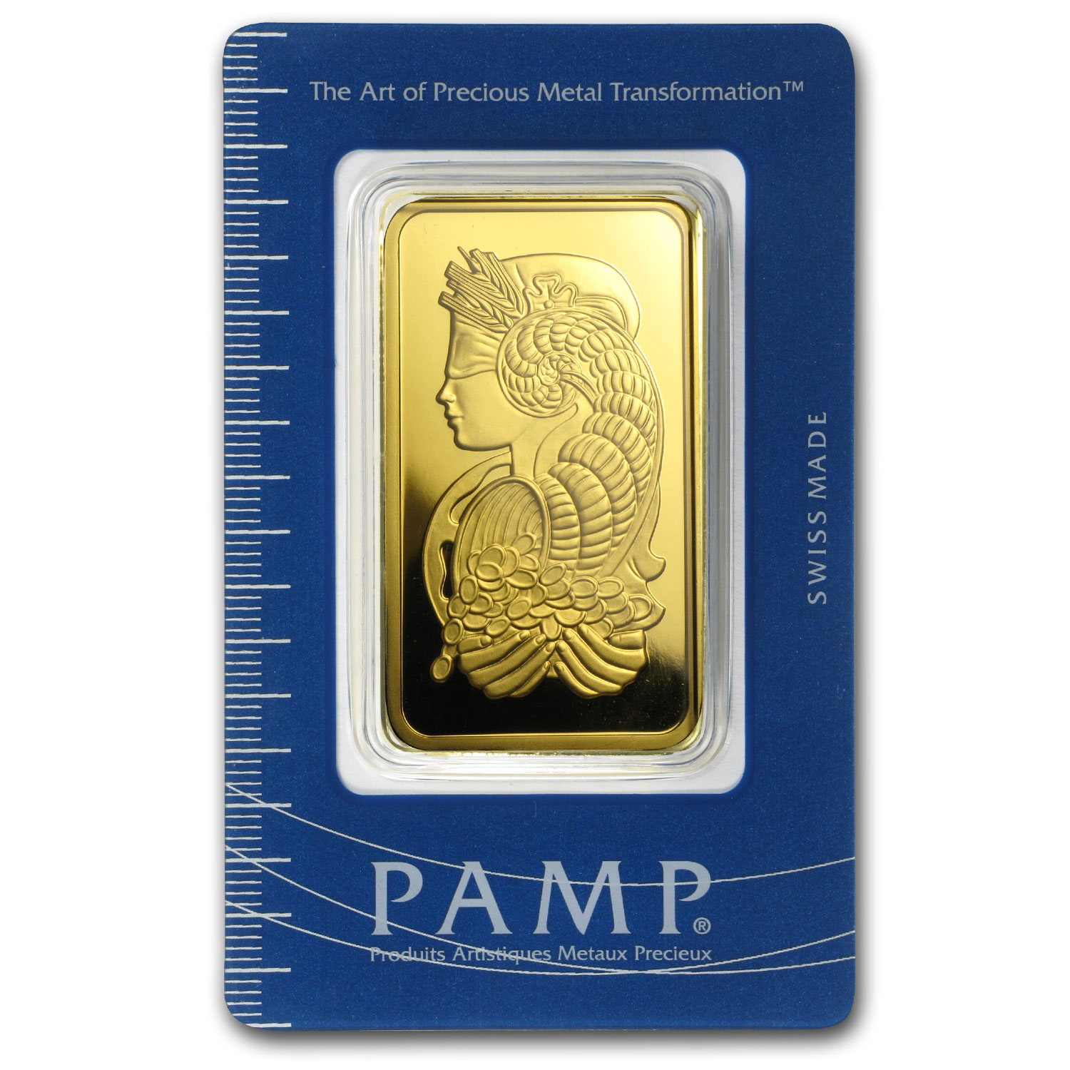 100 gram Gold Bar - Pamp Suisse Lady Fortuna (In Assay)
