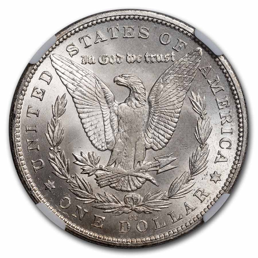 1880-CC Morgan Dollar - MS-65 NGC