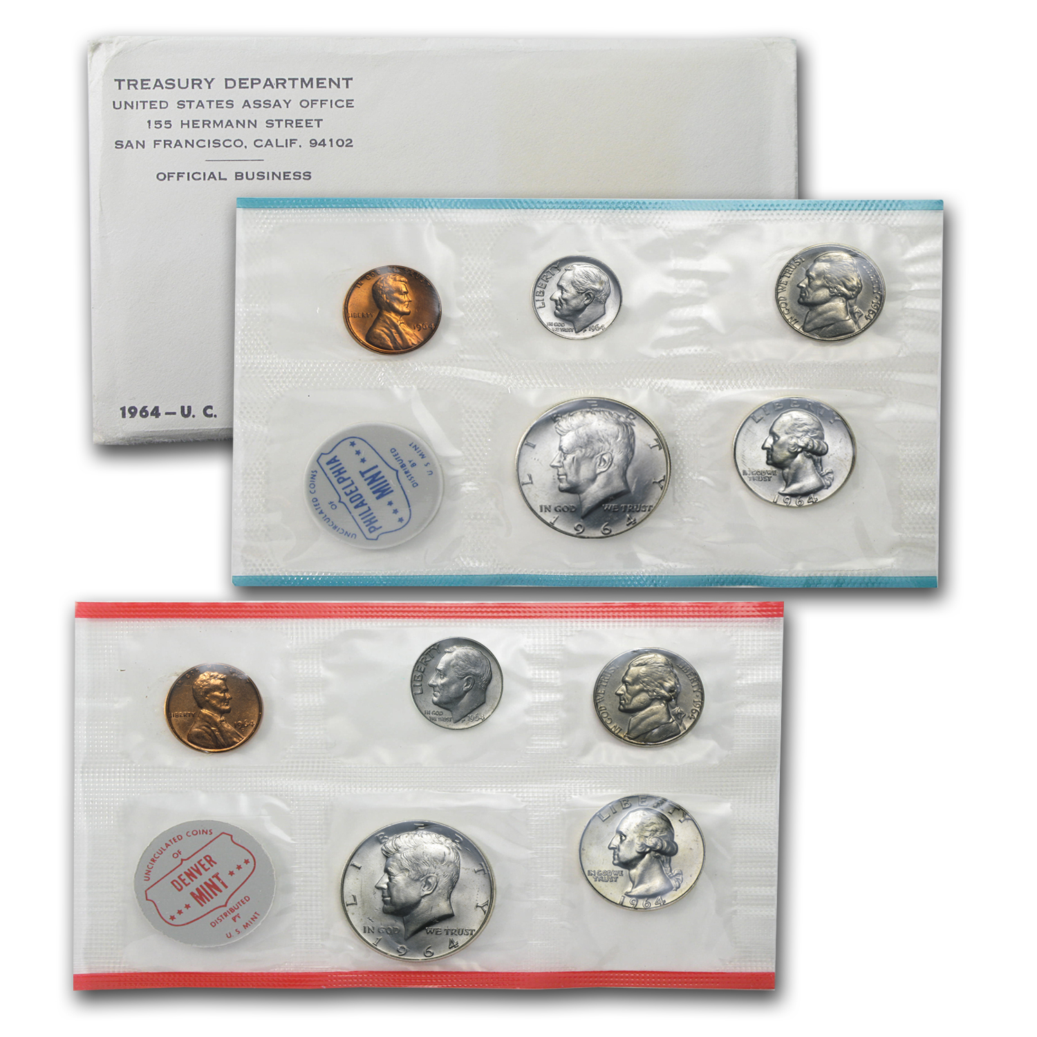 1960-1964 - Silver US Mint Sets (Years of our Choice!)