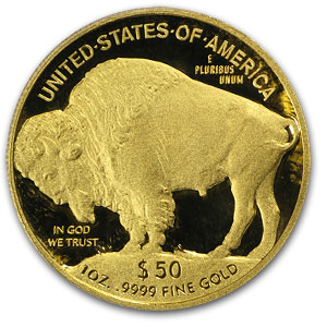 2010-W 1 oz Proof Gold Buffalo PR-70 DCAM PCGS (Black Diamond)