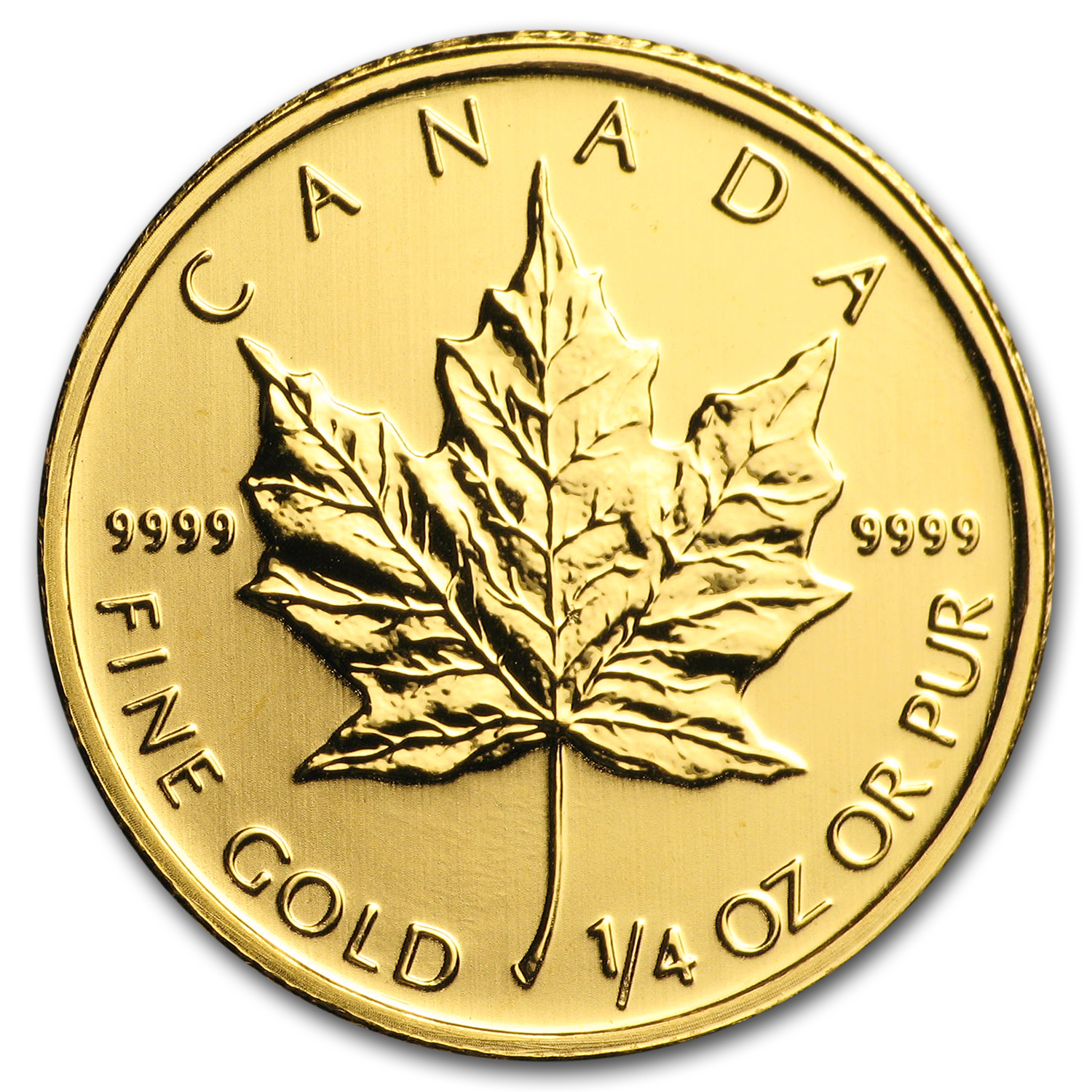 2011 Canada 1/4 oz Gold Maple Leaf BU