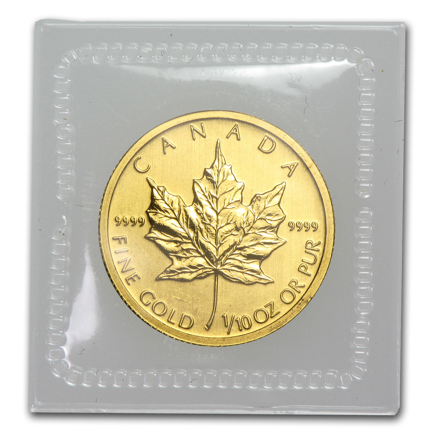 2011 1/10 oz Gold Canadian Maple Leaf BU
