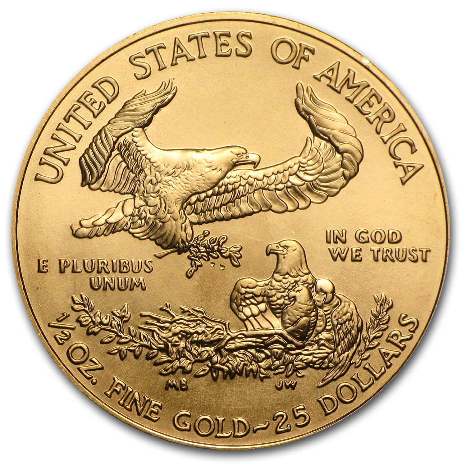 2011 1/2 oz Gold American Eagle BU