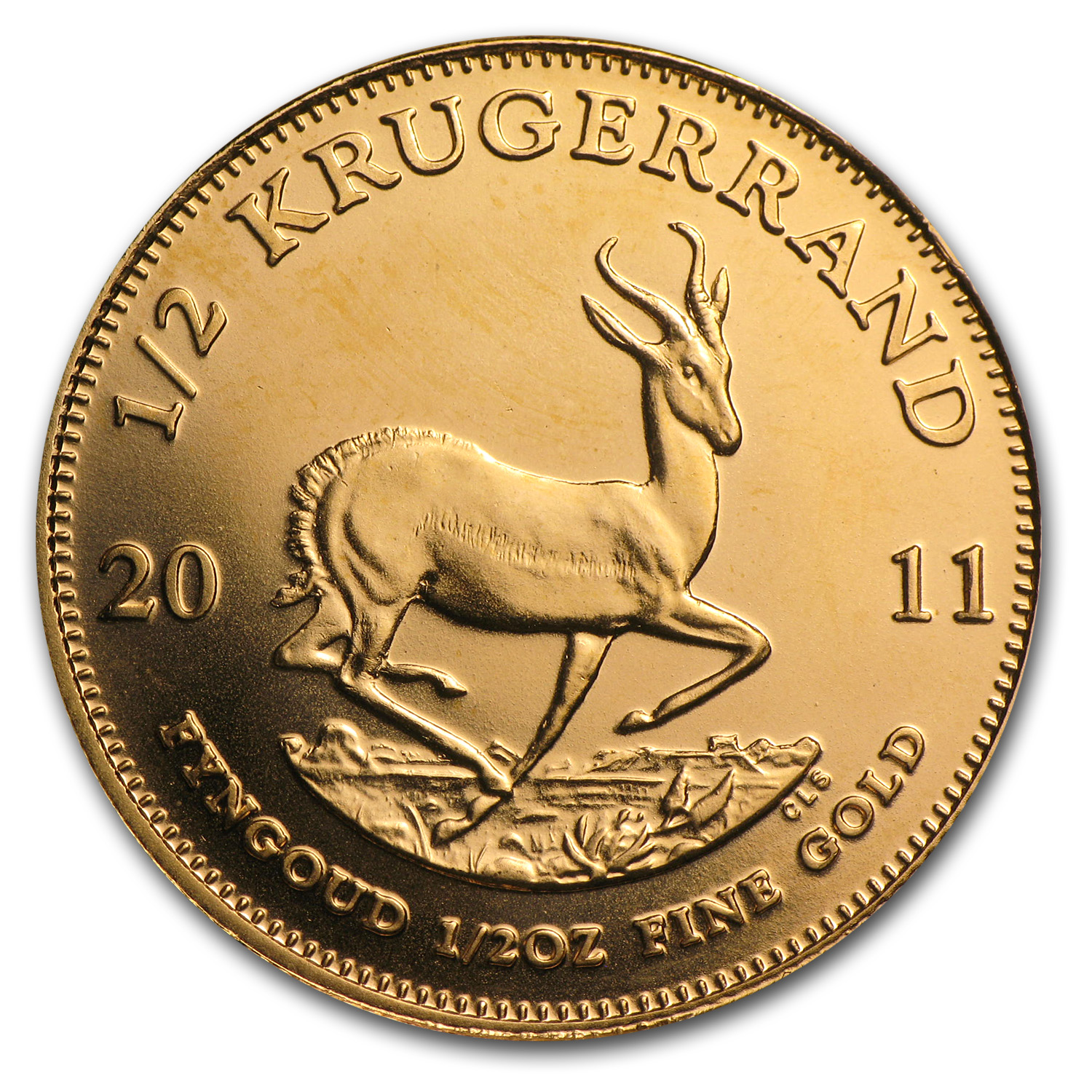 2011 1/2 oz Gold South African Krugerrand