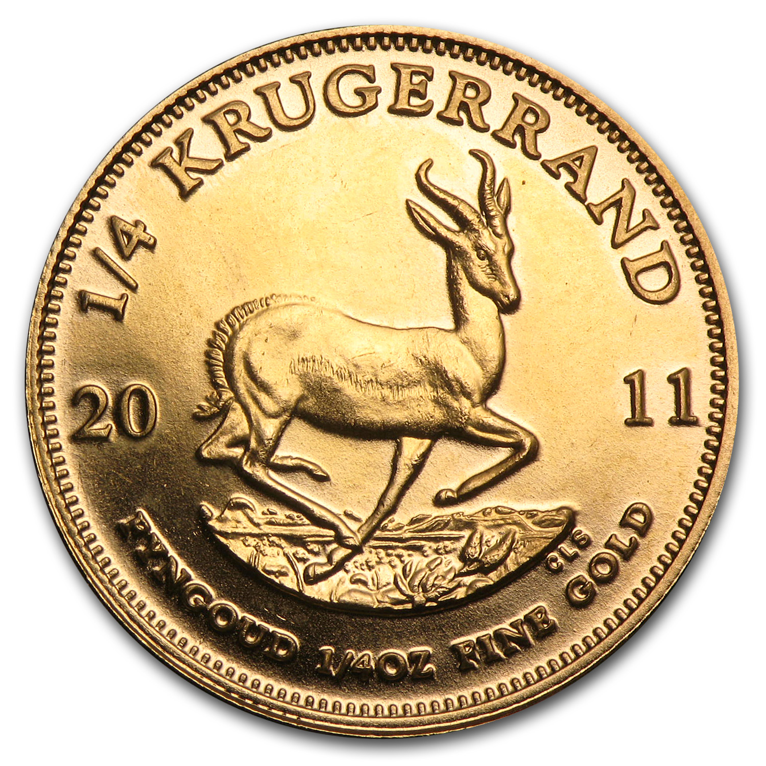 2011 South Africa 1/4 oz Gold Krugerrand
