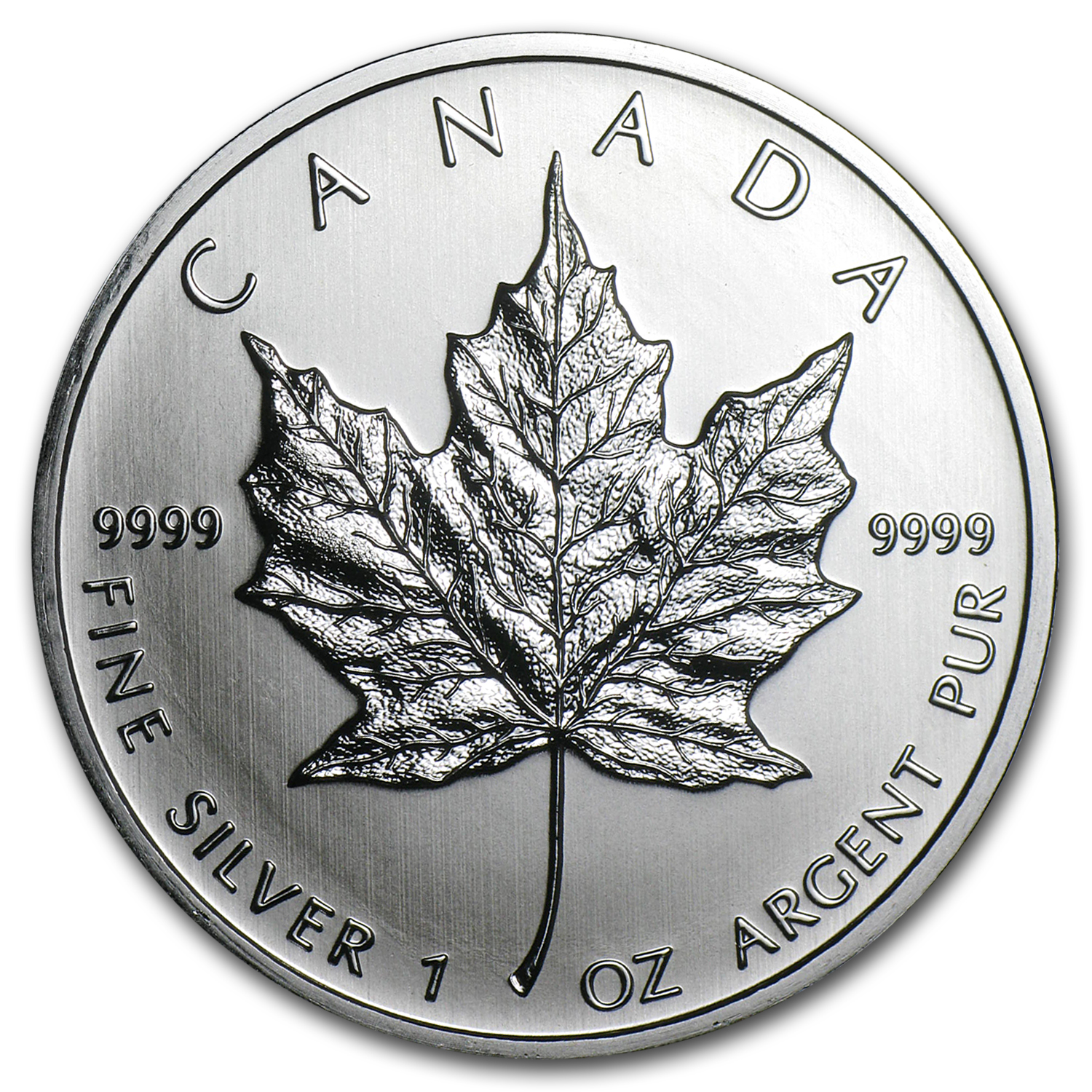 2011 1 oz Silver Canadian Maple Leaf BU