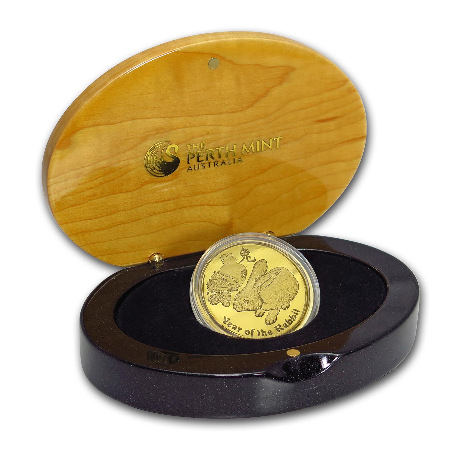 2011 1 oz Gold Lunar Year of the Rabbit Proof (Series II)