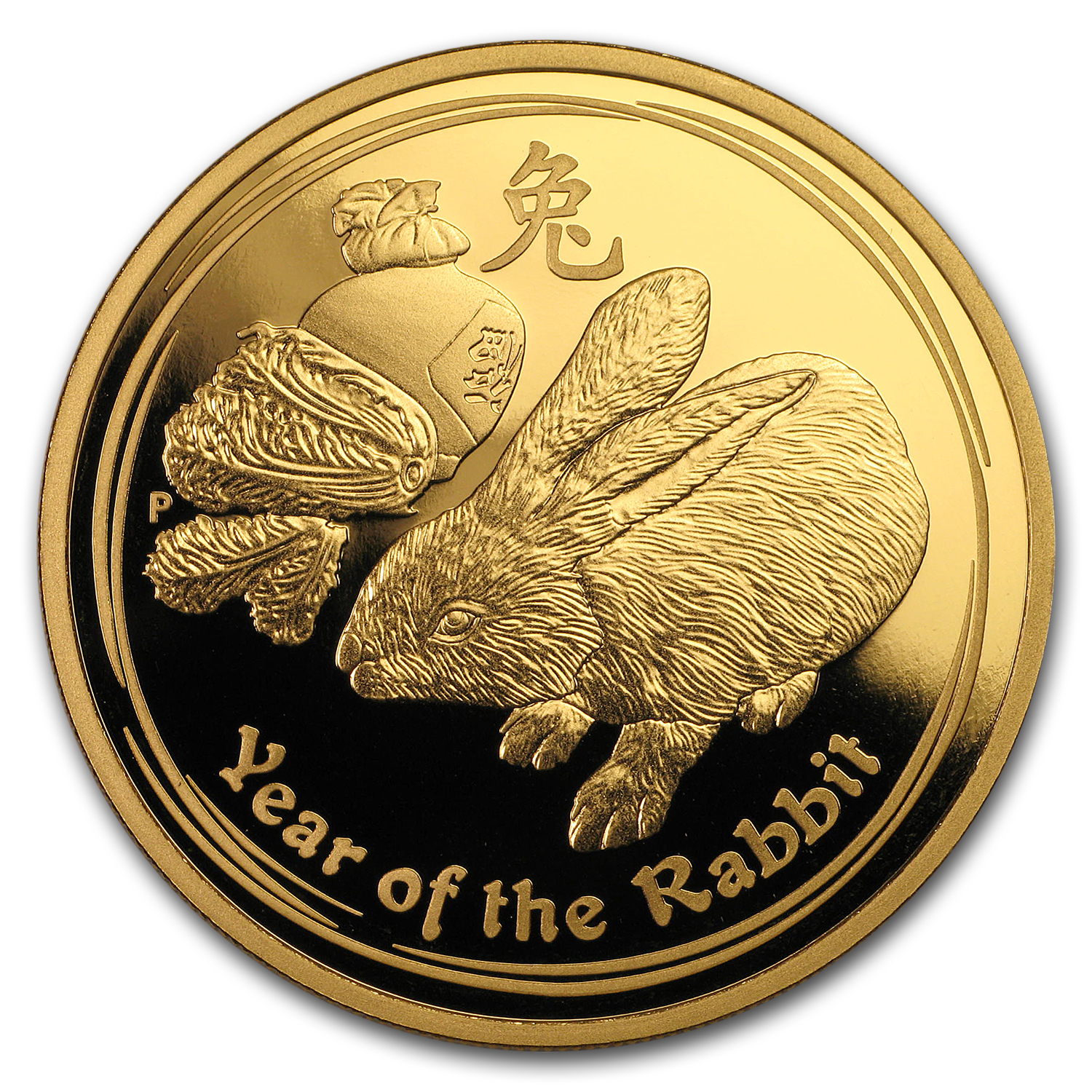 2011 Australia 3-Coin Gold Lunar Rabbit Proof Set (Series II)