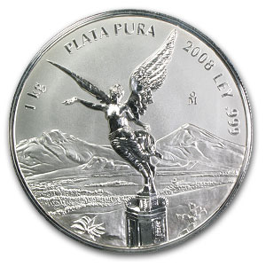 2008 32.15 oz Kilo Silver Libertad Proof Like - (w/ Box & CoA)