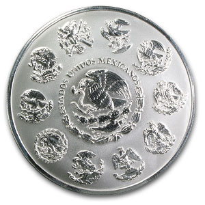2008 Mexico 1 kilo Silver Libertad Proof Like (w/Box & COA)