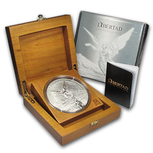 2006 Mexico 1 kilo Silver Libertad Proof Like (w/Box & COA)