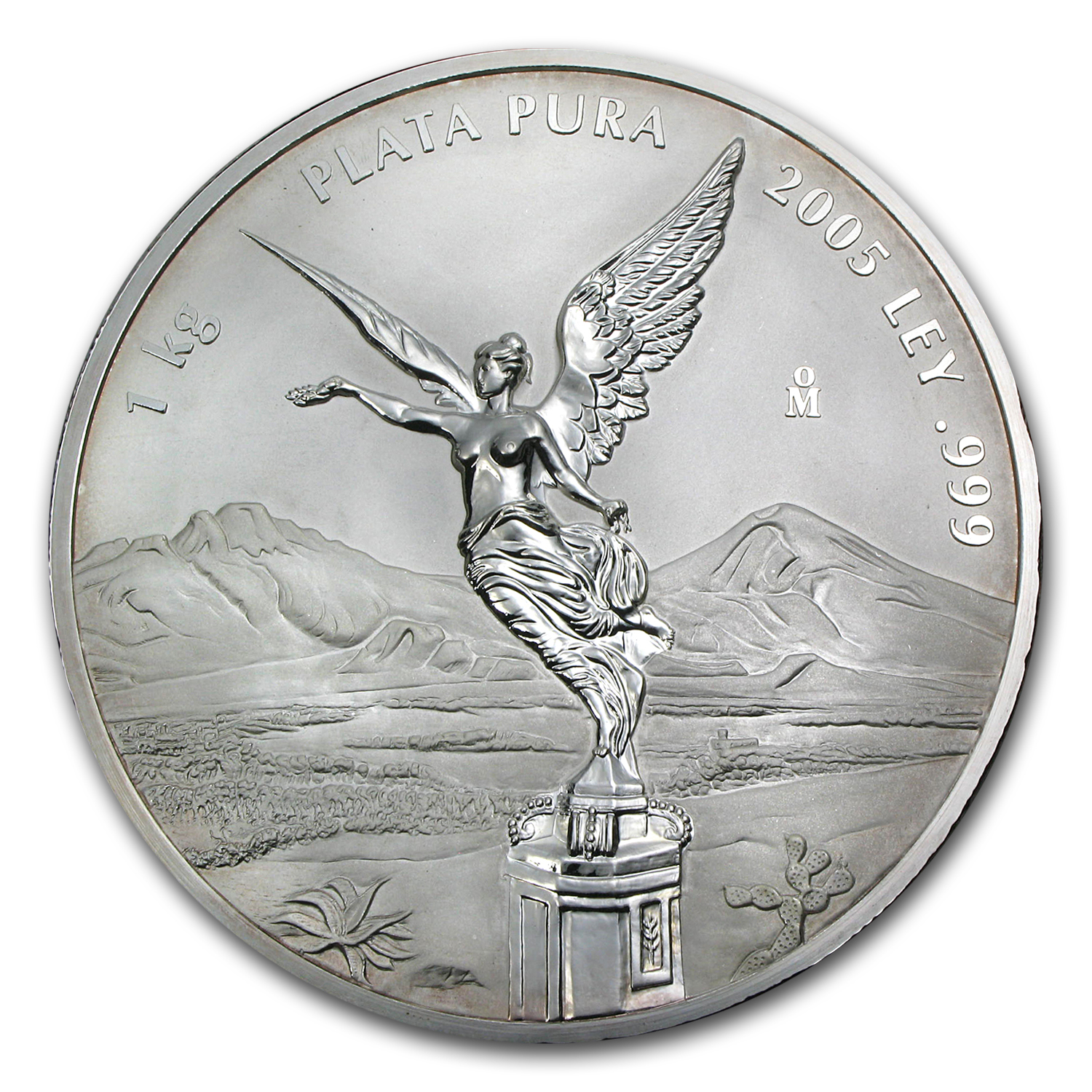 2005 Mexico 1 kilo Silver Libertad Proof Like (w/Box & COA)