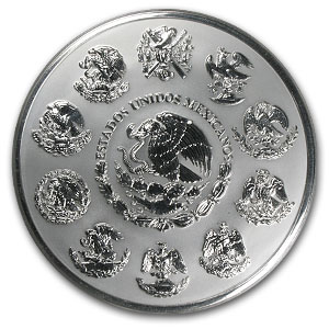 2003 32.15 oz Kilo Silver Libertad Proof Like - (w/ Box & CoA)