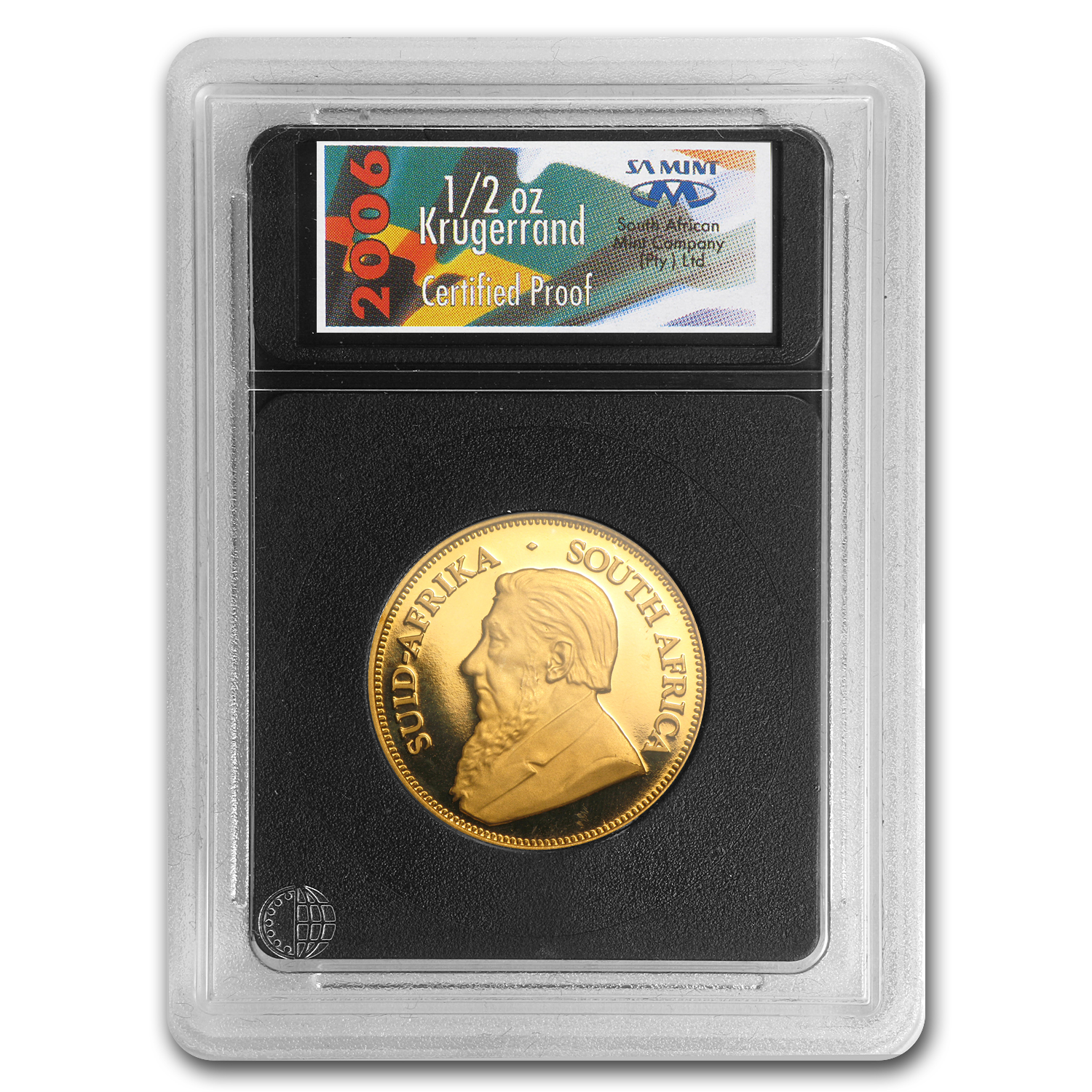 2006 South Africa 1/2 oz Proof Gold Krugerrand (Sealed by Mint)