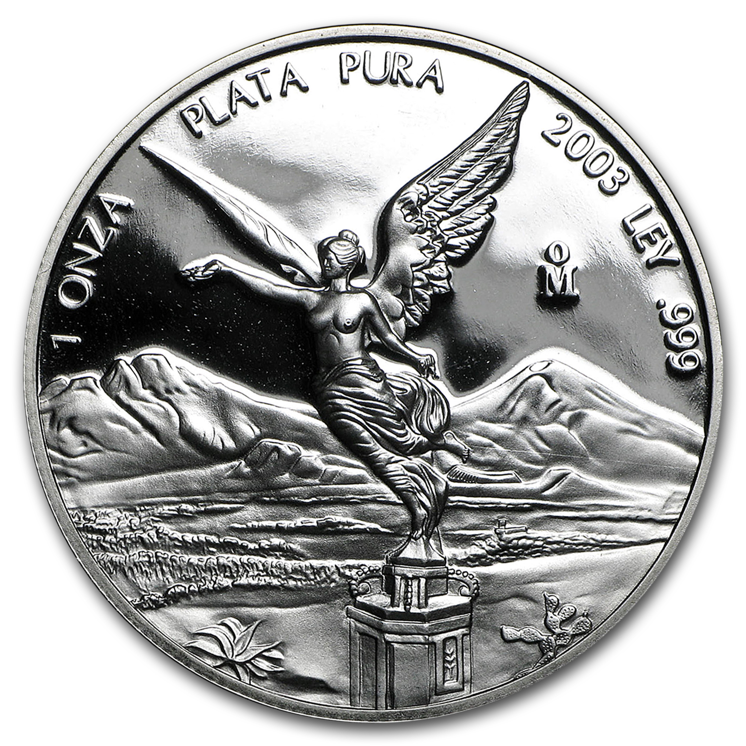 2003 Mexico 1 oz Silver Libertad Proof (In Capsule)