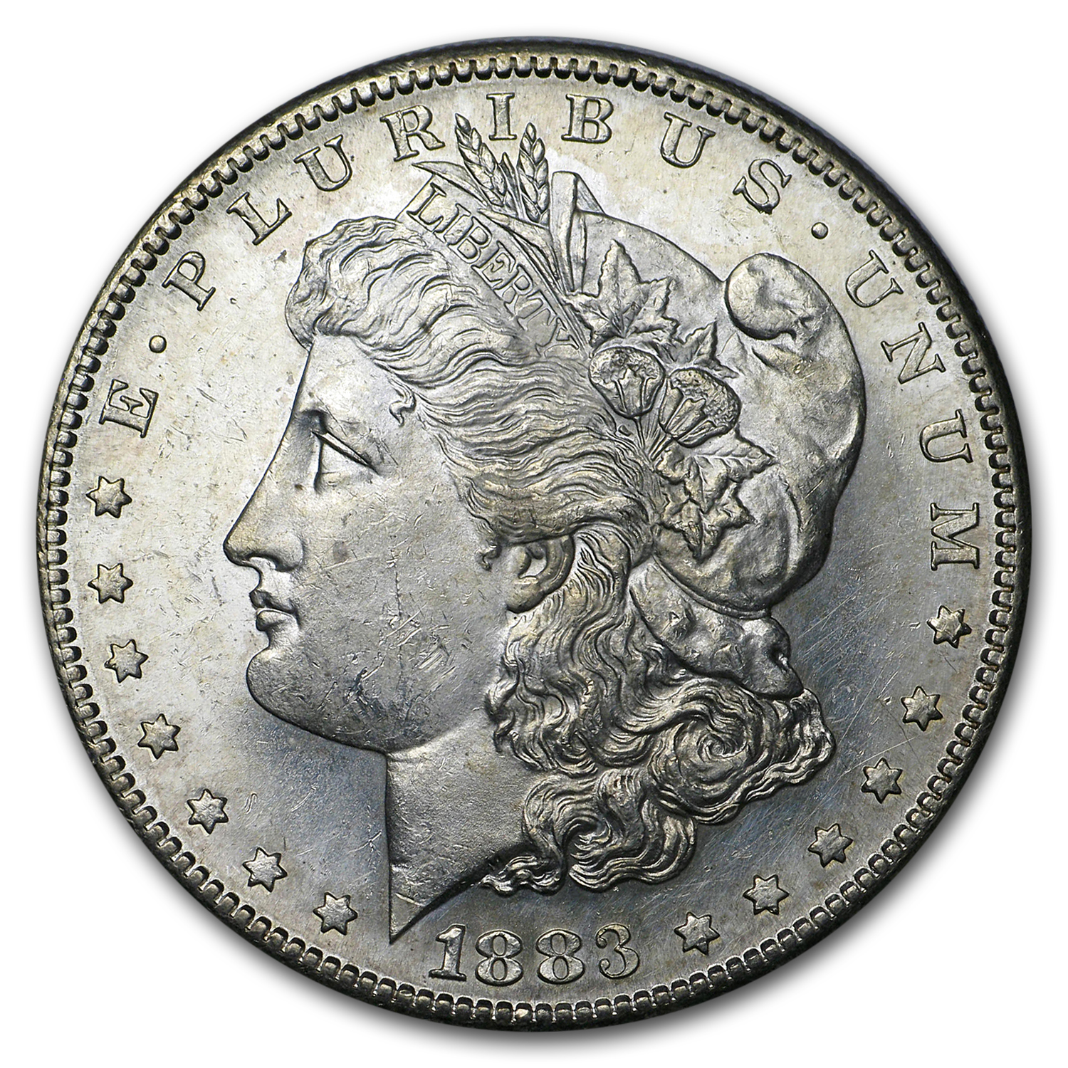 1883-S Morgan Dollar - Brilliant Uncirculated