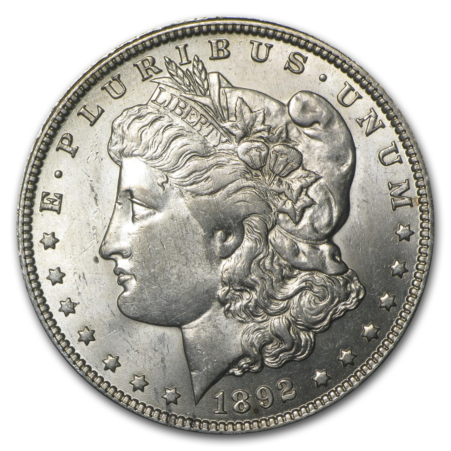 1892-O Morgan Dollar BU