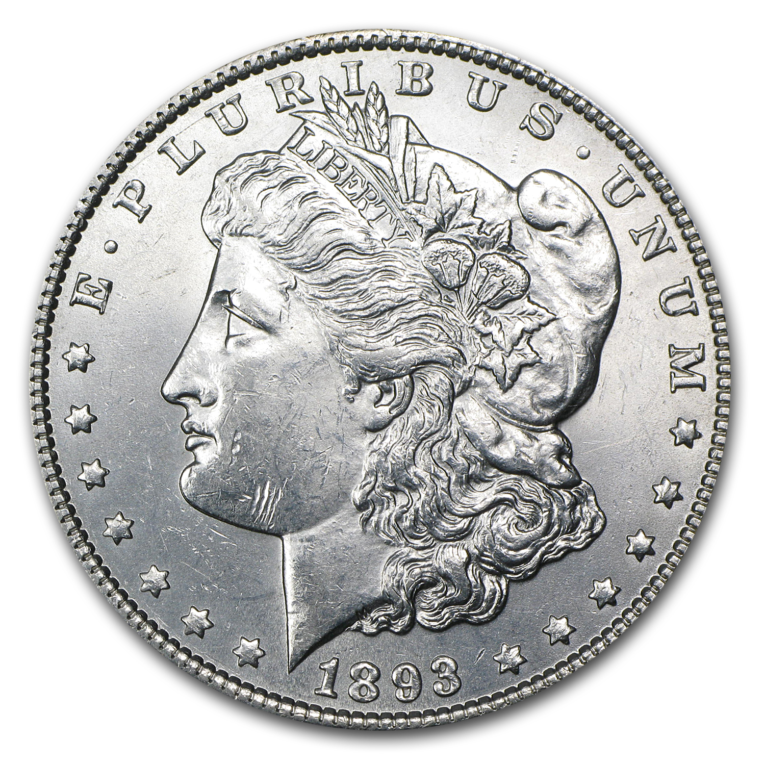 1893 Morgan Dollar BU