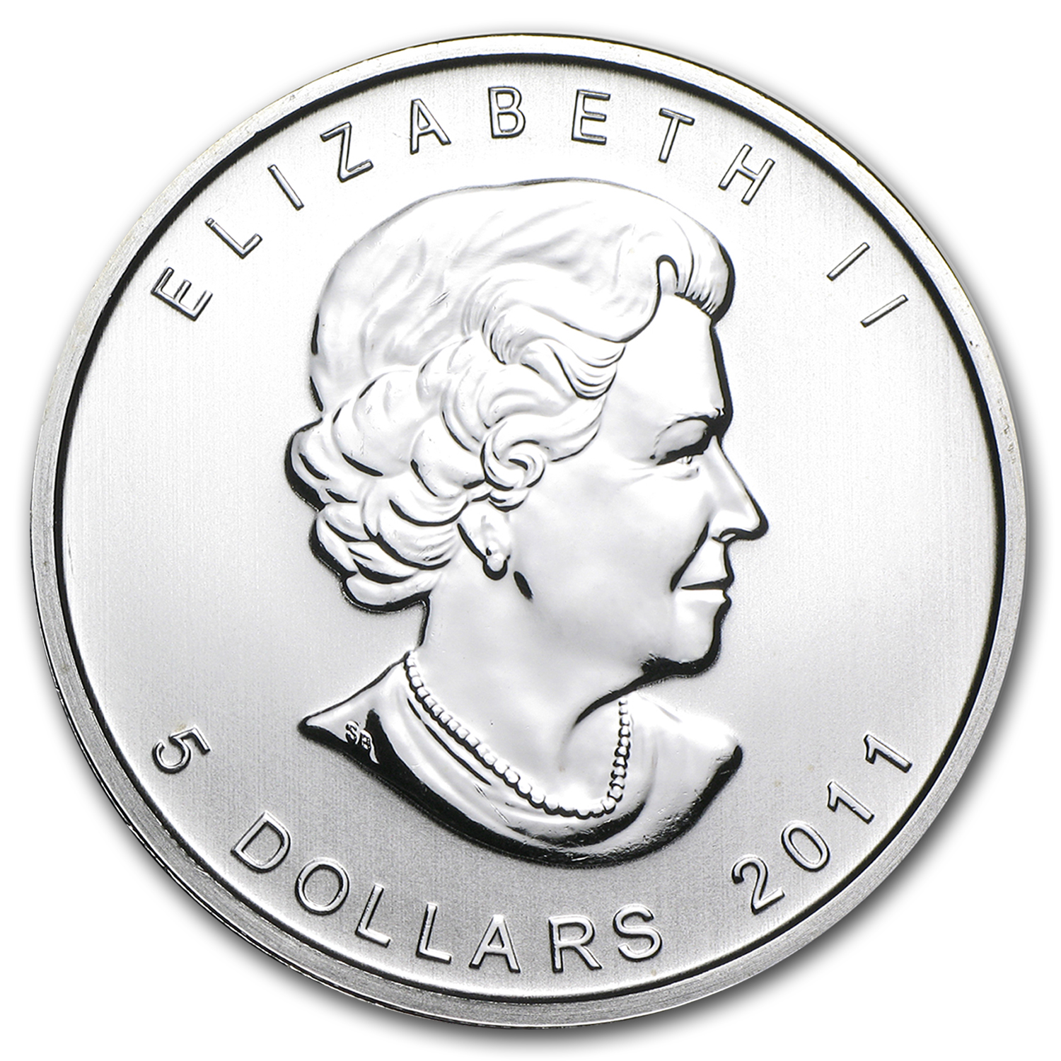 2011 1 oz Silver Canadian Wolf Pack (25-Coin MintDirect® Tube)