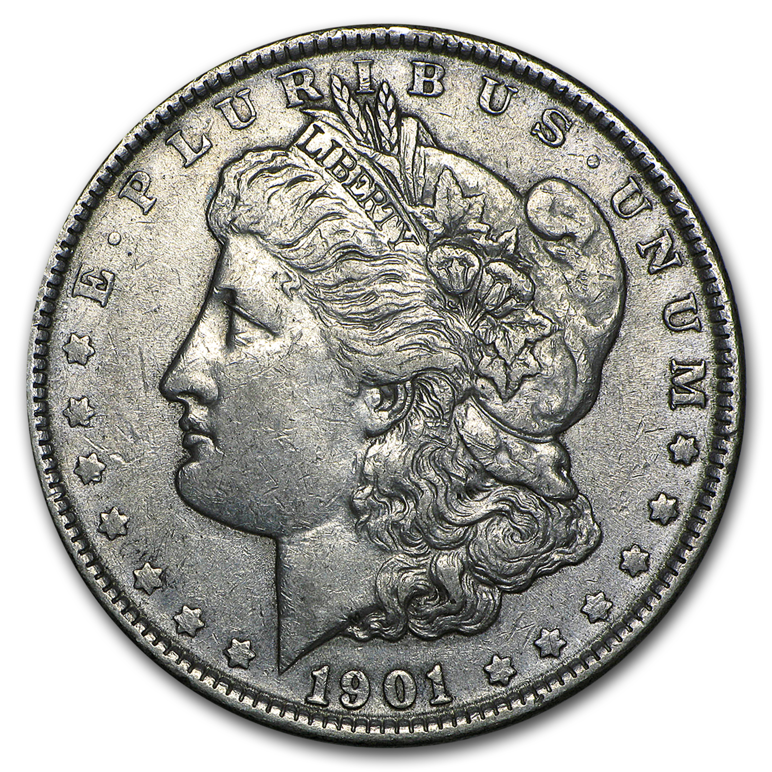 1901 Morgan Dollar XF