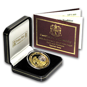 2009 Isle of Man 2-Coin Gold/Platinum Angel Special Issue Set