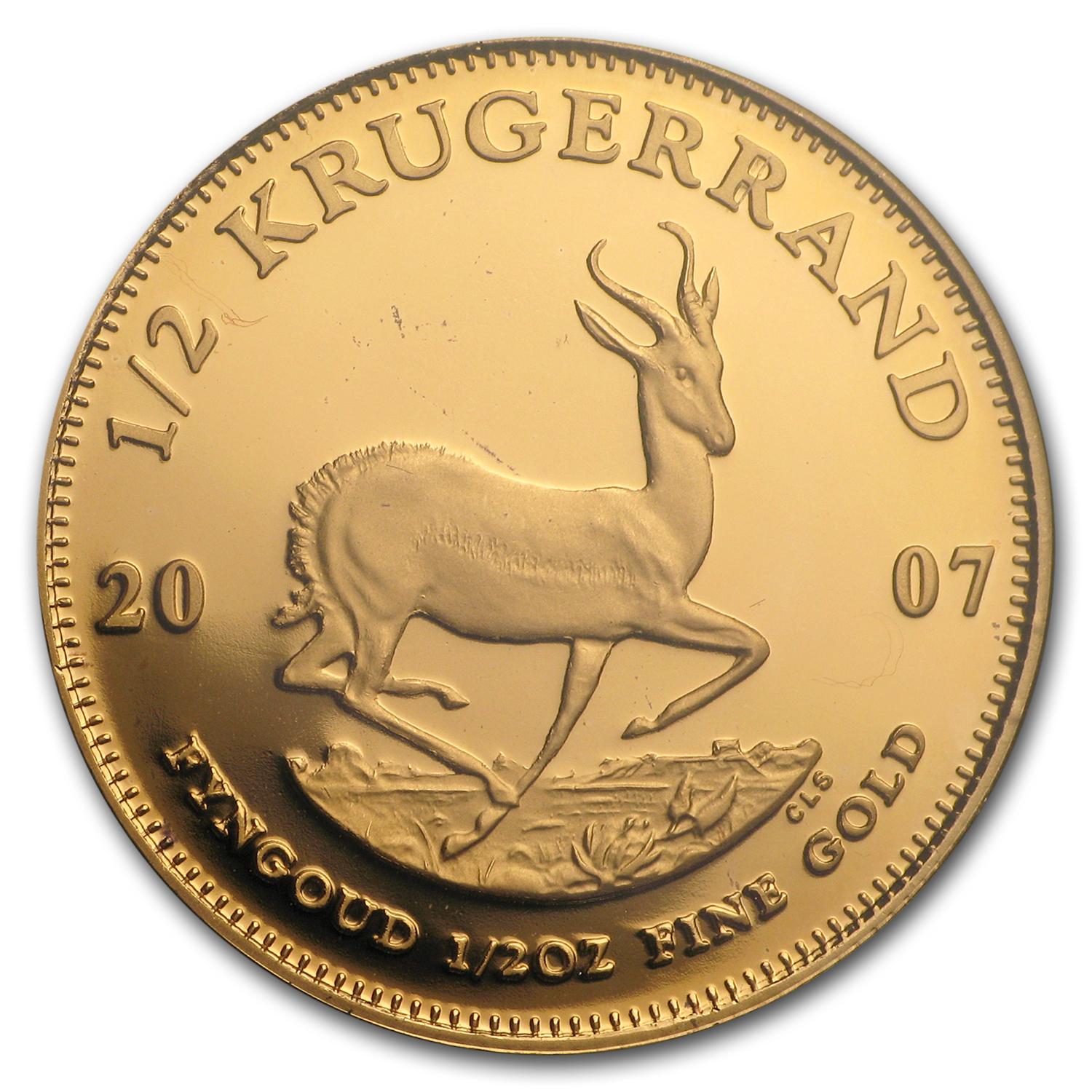 2007 4-Coin Gold South African Krugerrand Proof Set (FS)