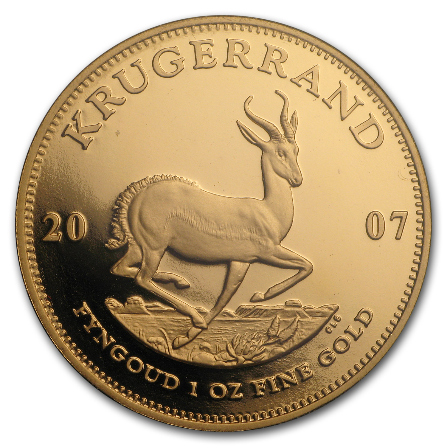 2007 South Africa 4-Coin Gold Krugerrand Proof Set (FS)