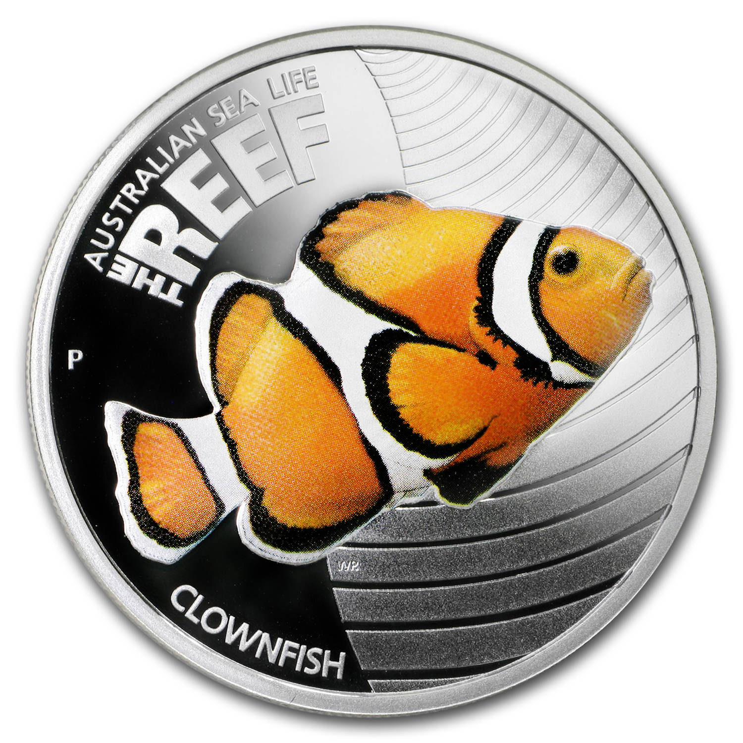 2010 Australia 1/2 oz Silver Clownfish Proof