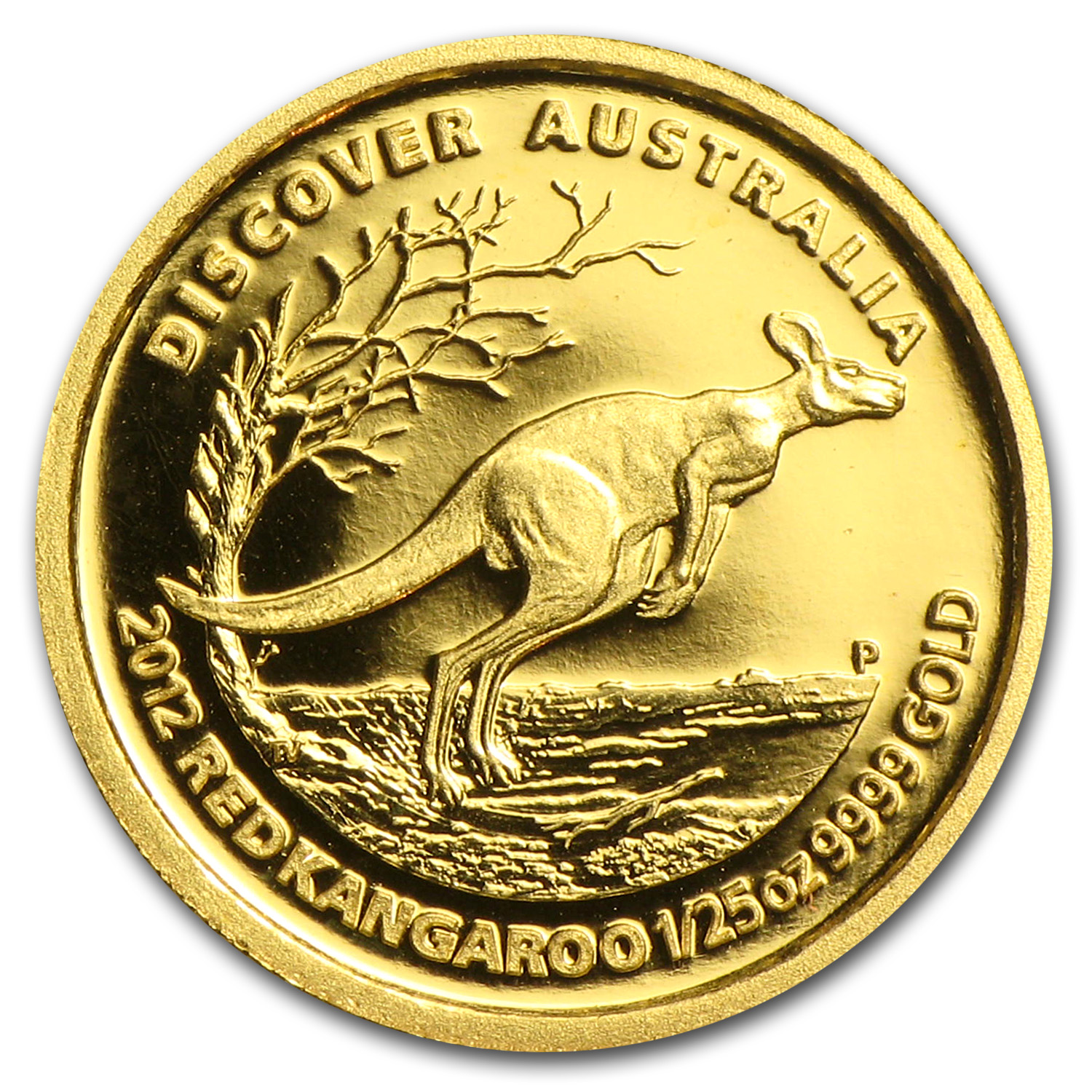 1/25 oz Proof Gold Discover Australia Series- Random Years