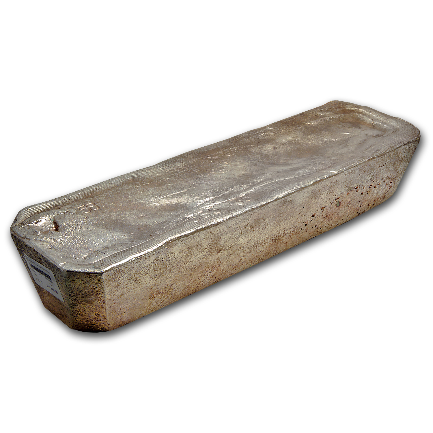 565.35 oz Silver Bar - Pease & Curren