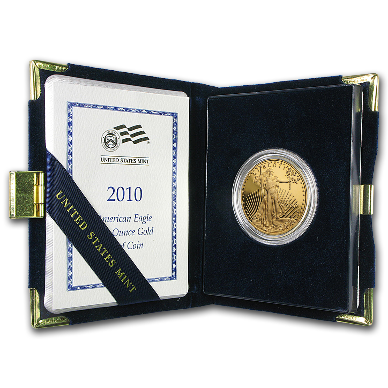 2010-W 1 oz Proof Gold American Eagle (w/Box & COA)