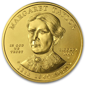 2009-W 1/2 oz Uncirculated Gold Margaret Taylor (w/Box & CoA)