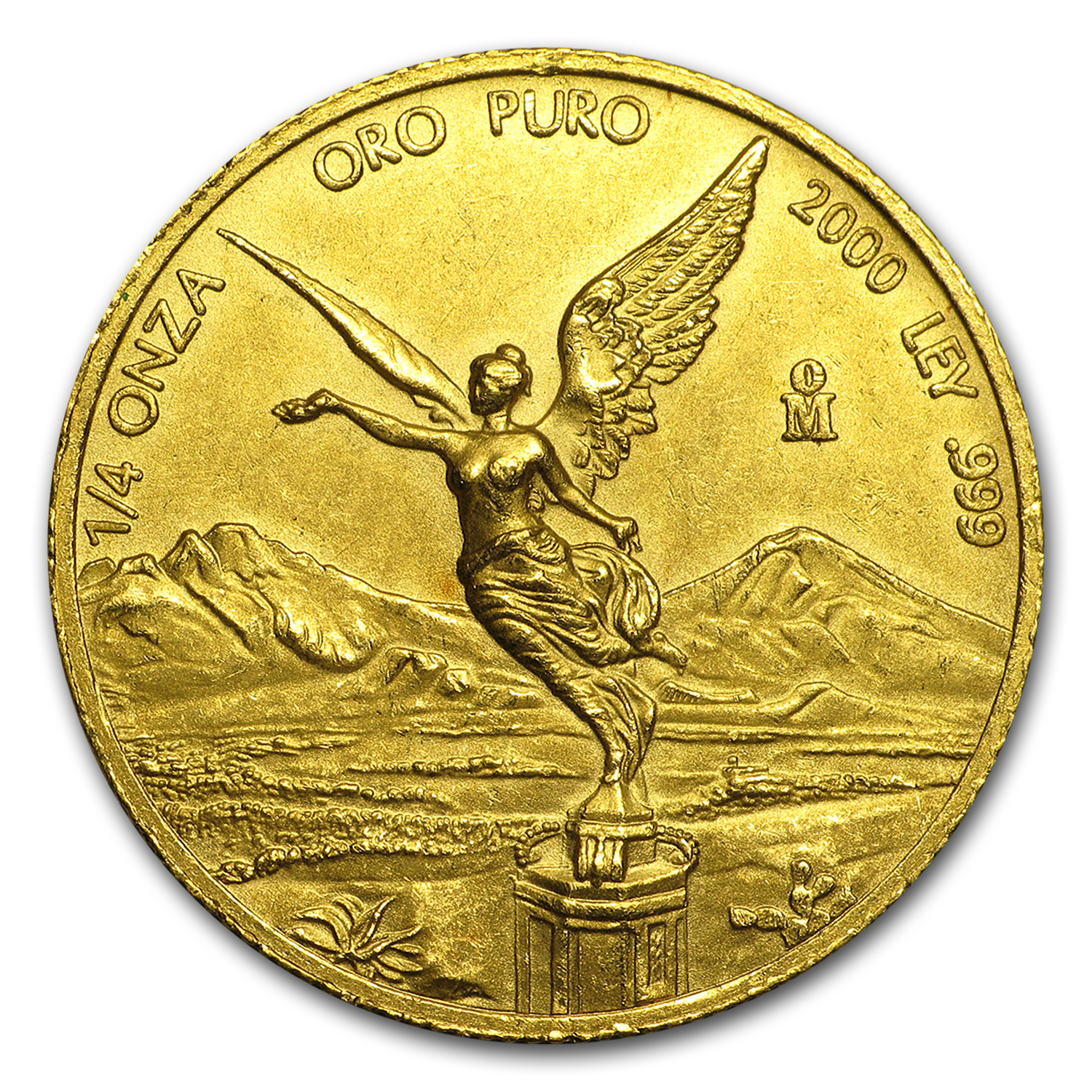 2000 1/4 oz Gold Mexican Libertad (Brilliant Uncirculated)