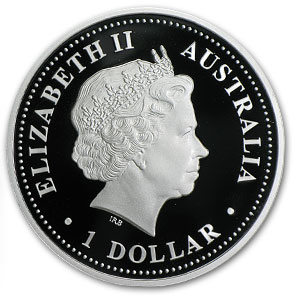 2009 1 oz Silver Australian South Pole Proof