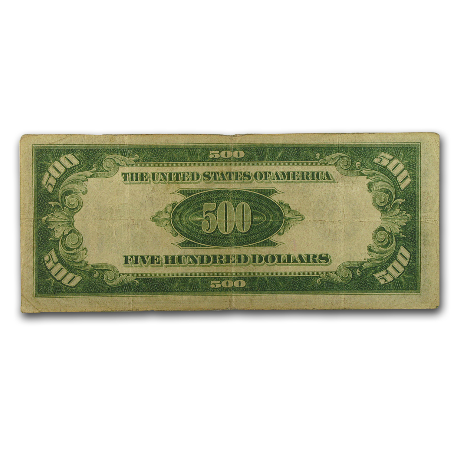 1934 (D-Cleveland) $500 FRN Fine (Light Green Seal)