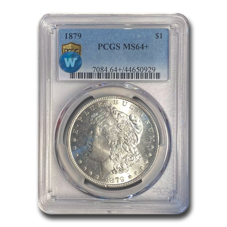 1879 Morgan Dollar MS-64+ Plus PCGS