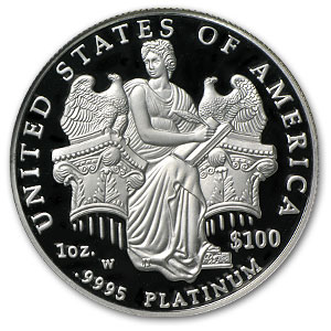 2006-W 4-Coin Proof Platinum American Eagle Set PF-70 NGC