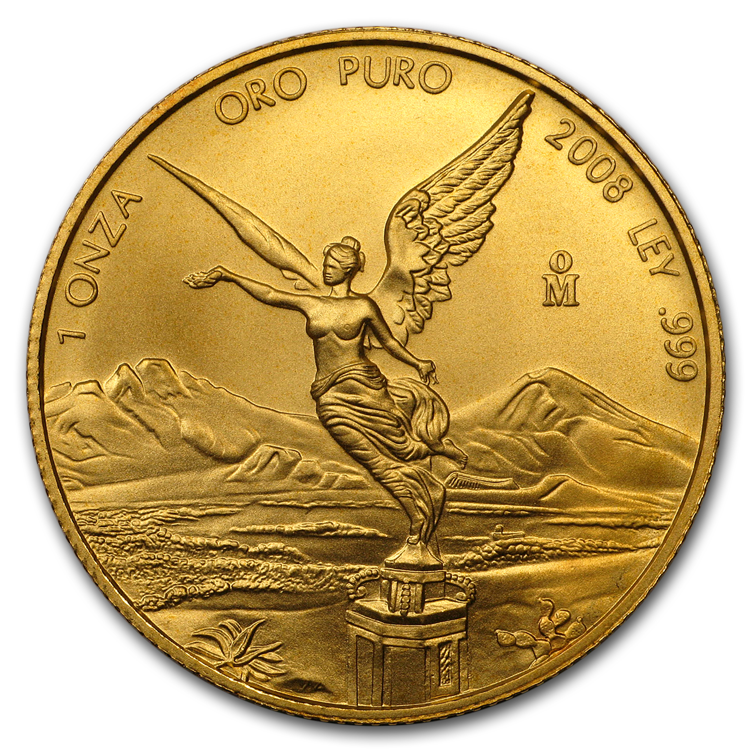 2008 Mexico 1 oz Gold Libertad BU