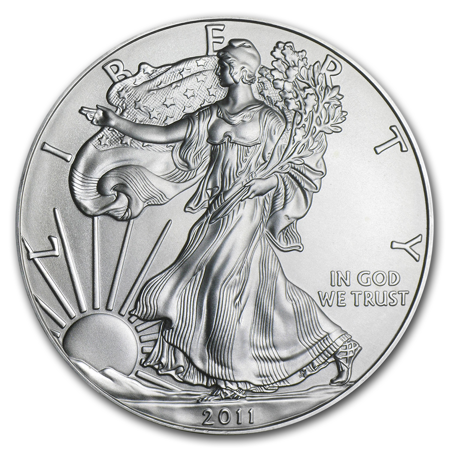2010 1 oz Silver American Eagles (20-Coin MintDirect® Tube)