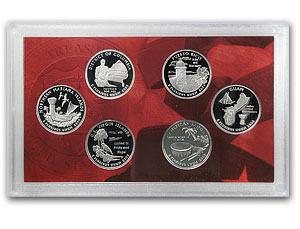 2009 U.S. Territories Quarter Proof Sets (Silver)
