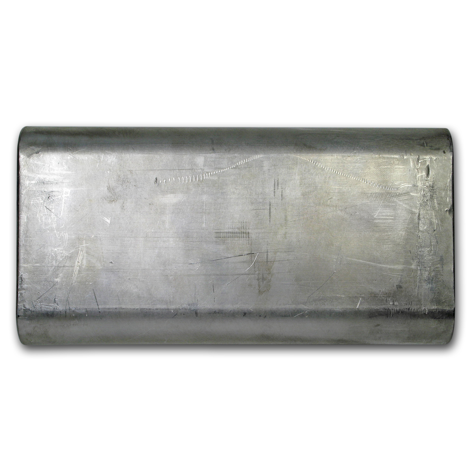 100 oz Silver Bar - Wolverine (Extruded)