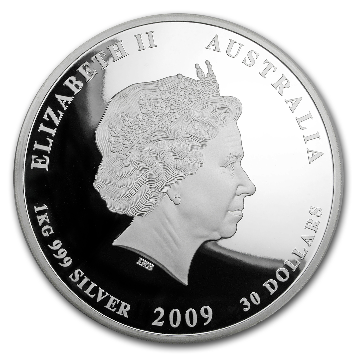 2009 1 Kilo Silver Australian Year of the Ox Proof (Series II)