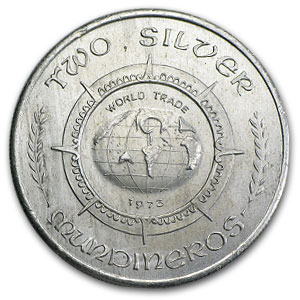 2 oz Silver Round - Two Silver Mundineros