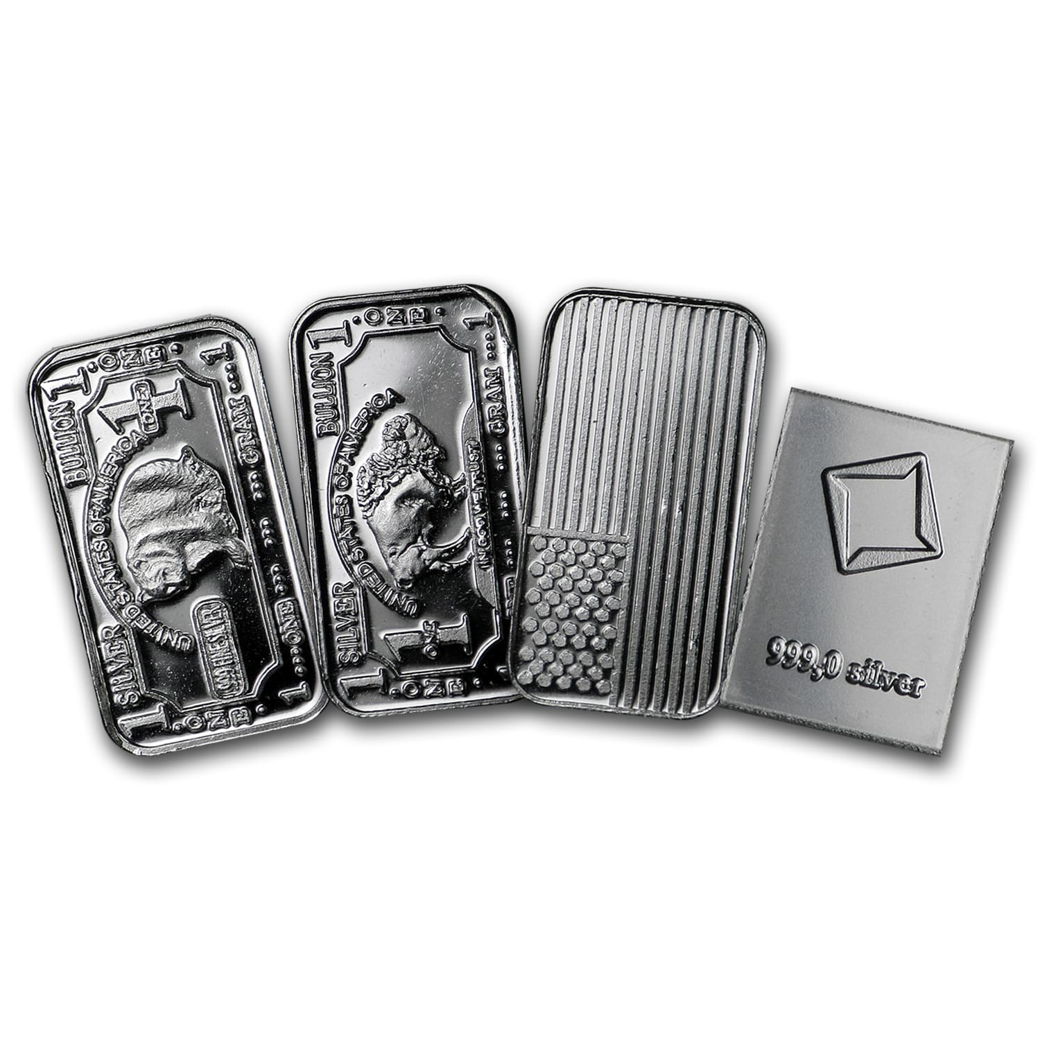 1 gram Silver Bars - Secondary Market