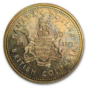 1971 Canadasilver Dollar Bu Canadian Silver Dollars Apmex