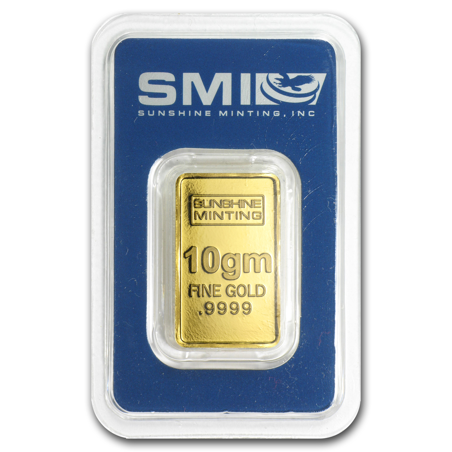 10 gram Gold Bar - Sunshine Minting Old Design (In TEP Packaging)