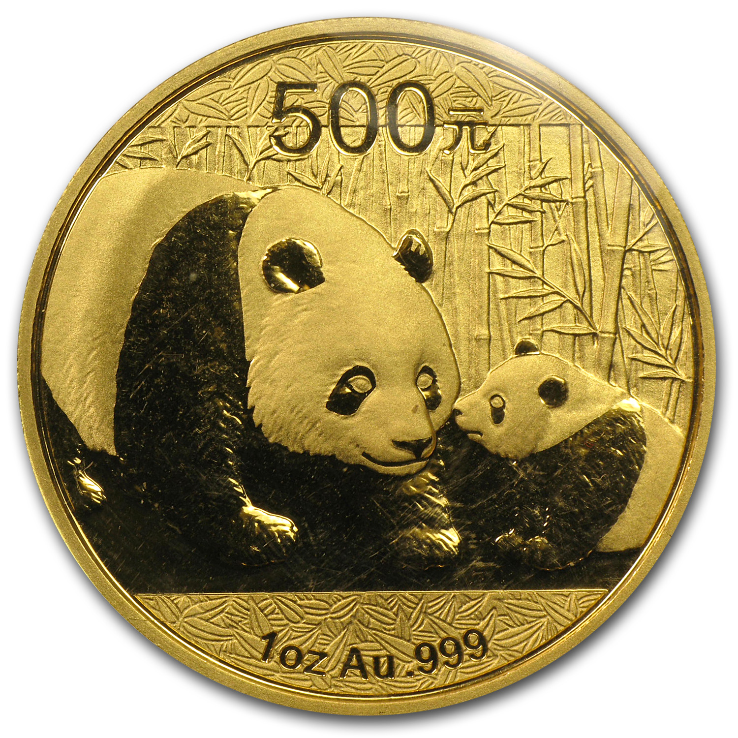 2011 China 1 oz Gold Panda BU (Sealed)