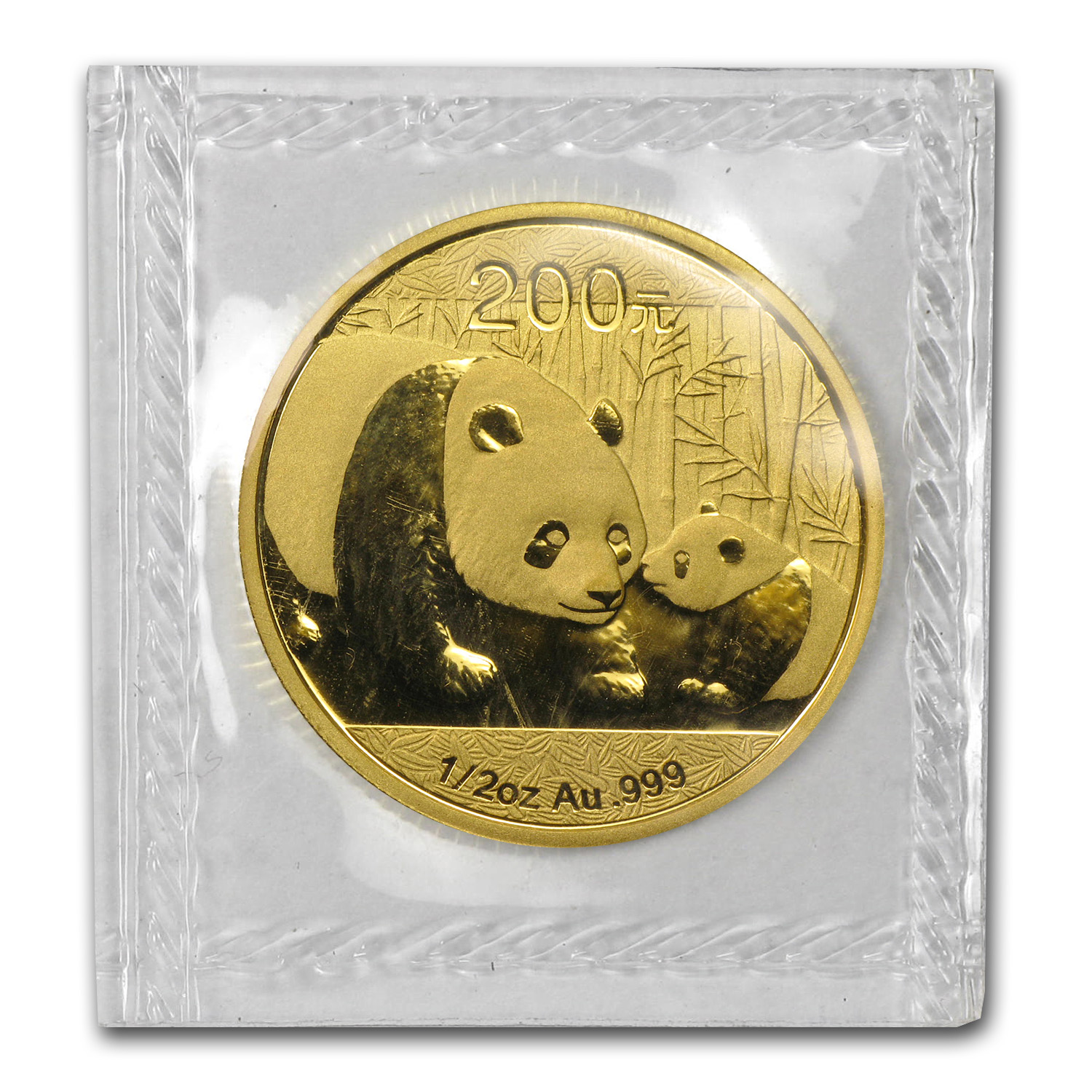 2011 1/2 oz Gold Chinese Panda (Sealed)