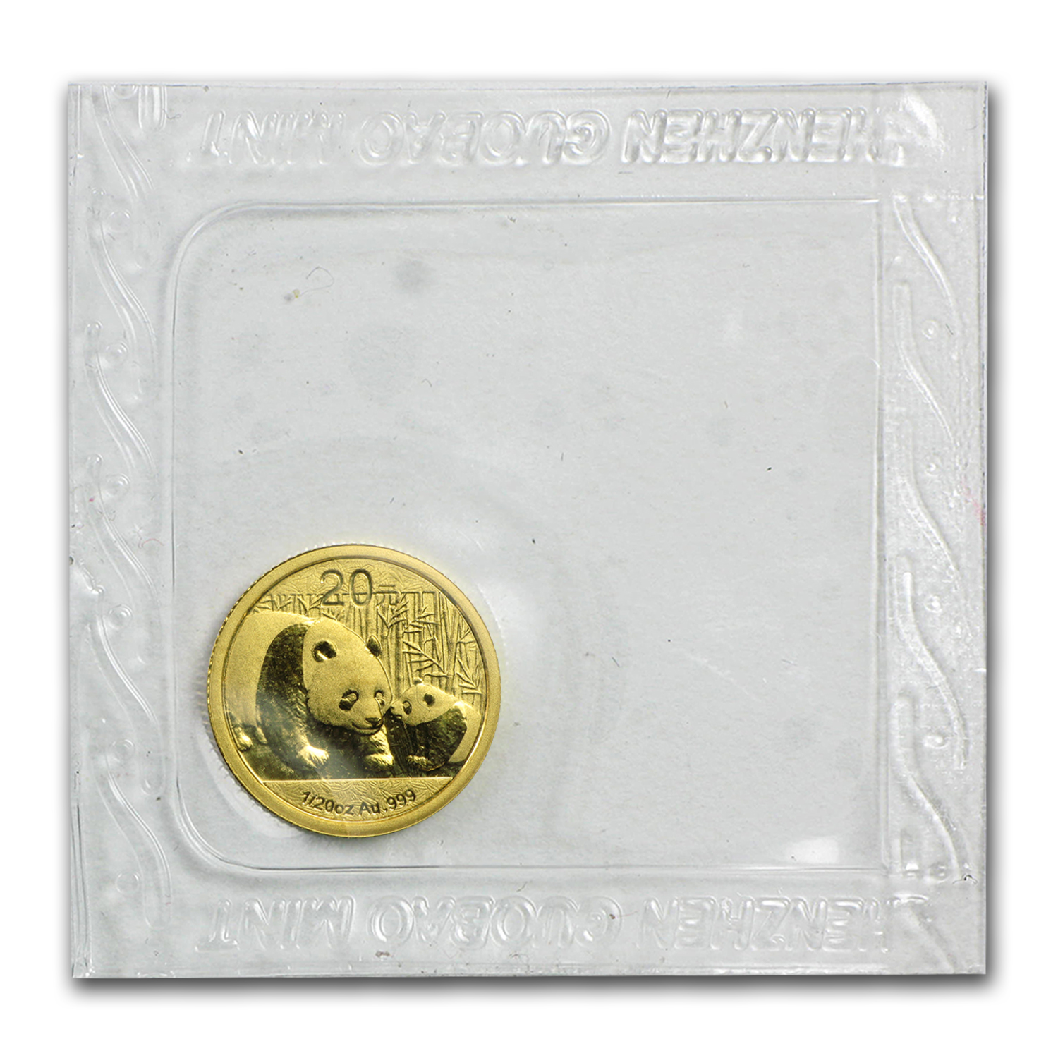 2011 1/20 oz Gold Chinese Panda BU (Sealed)